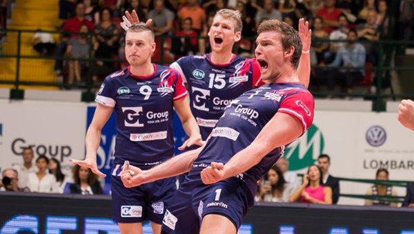 SUPERLEGA. Play off Challenge, Christian Fromm carica il Gi Group
