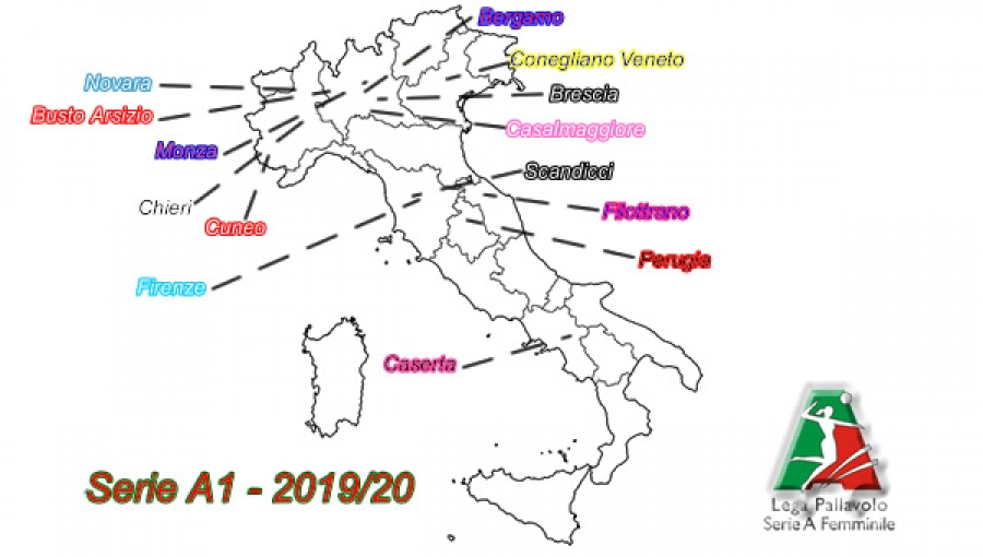 Lega Volley Calendario.Serie A1 Lega Volley Femminile Diramato Il Calendario 2019