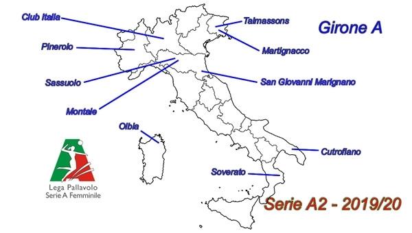 Serie A2 Pallavolo Maschile Calendario.A1