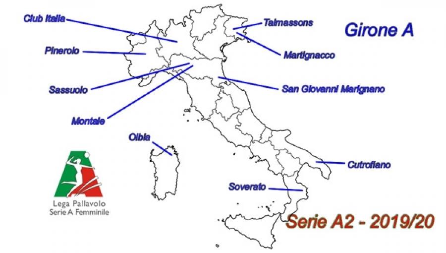 Calendario Lega Pro Girone C Pdf.Serie A2 A Lega Volley Femminile Diramato Il Calendario