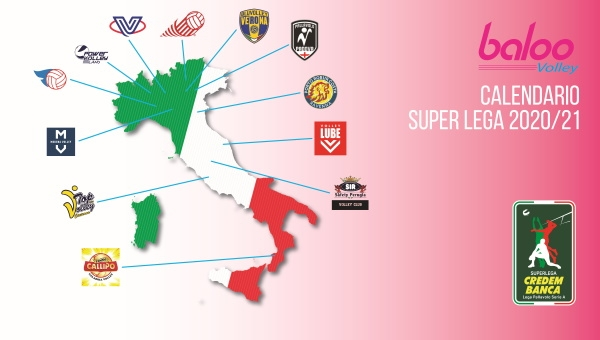 SUPERLEGA. Il calendario completo della Regular Season